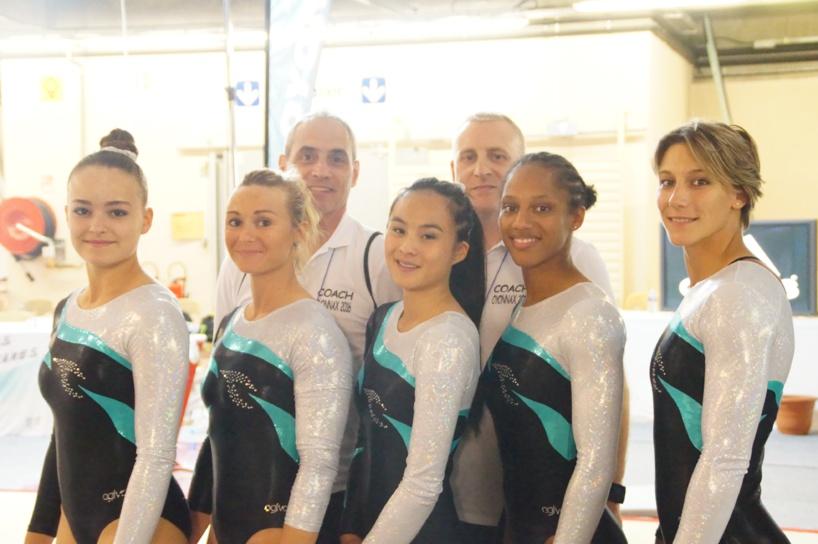 Championnats de France -Equipe Féminine - OYONNAX 2016