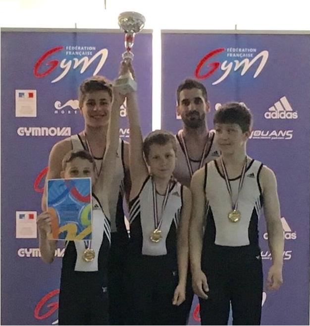 Championnat de France - Equipe Masculine - OYONNAX 2016