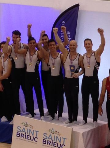 Nos Masculins sont Champions de France DN4 !!